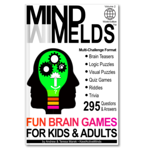 MindMelds Vol2, World Edition - Fun Brain Games for Kids and Adults