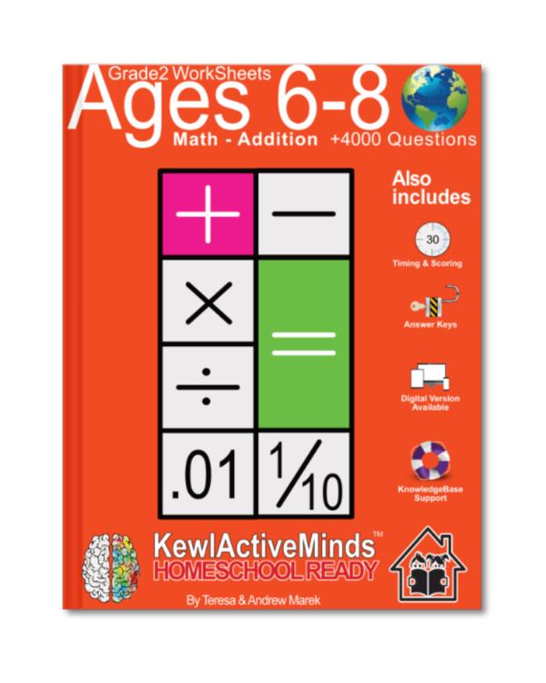 HomeSchool Ready Grade 2 Worksheets Math Addition
