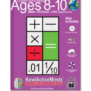 HomeSchool Ready Grade 4 Worksheets Math Division