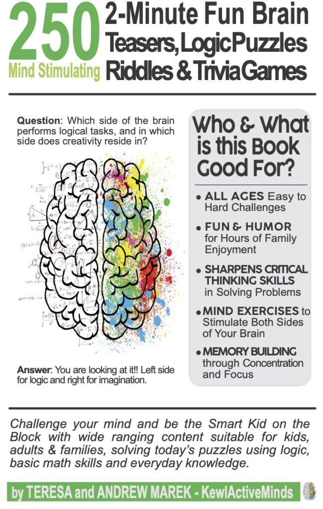 250 2-Minute Brain Teasers Vol1