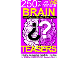 KewlActiveMinds Book 2 - Brain Teasers, Visual and logic Puzzles, Riddles and Trivia Games