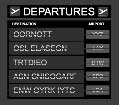 Daily MindMeld #83 – Departure Signs