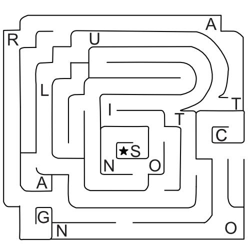 Daily MindMeld #92 – Secret Maze Word