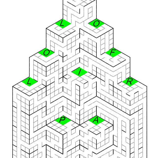 Daily MindMeld #108 – Secret Word Maze