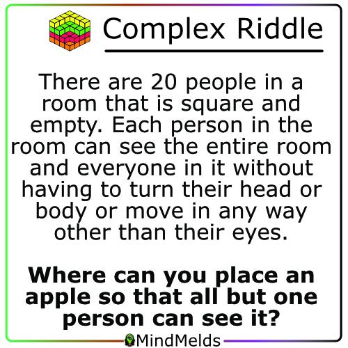 KewlActiveMinds - Complex Riddle Brain Teaser Braingame