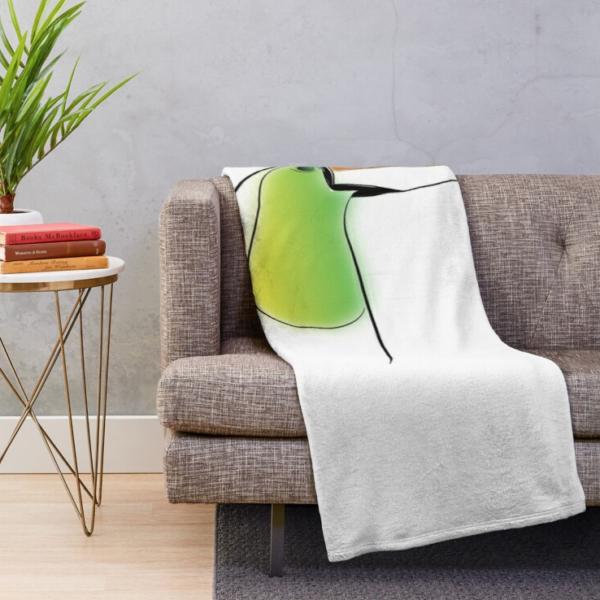 KewlActiveMinds Pura Vida Toucan Throw Blanket 2
