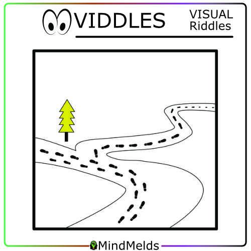 KewlActiveMinds Mindmelds - Visual Riddle Viddle Puzzle Brainteaser