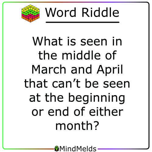 Riddle Mindmelds KewlActiveMinds - Logic Word Puzzle Brainteaser