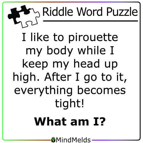 Riddle Mindmelds KewlActiveMinds - Word Puzzle Brainteaser