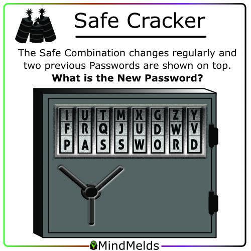 Safe Cracking Mindmelds - Logic Puzzle Brainteaser Brain Game